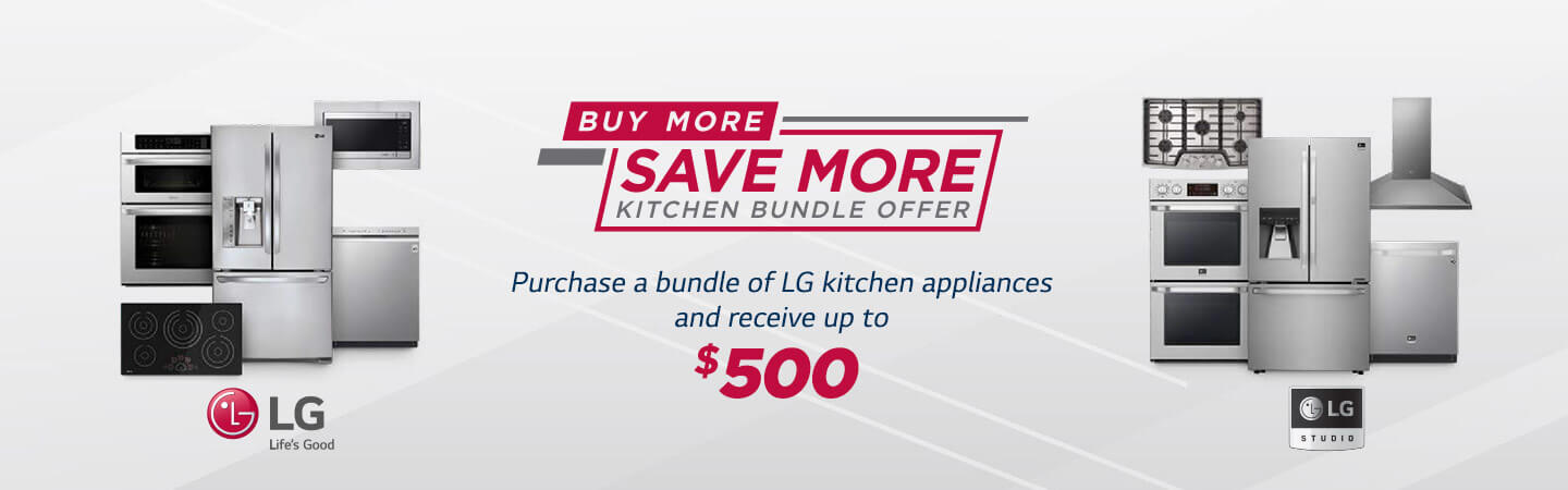 Lg More Save Kitchen Bundle Offer
