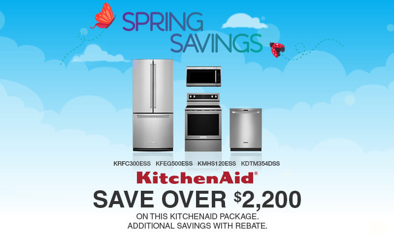 Buy More, Save More kitchenaid Appliances